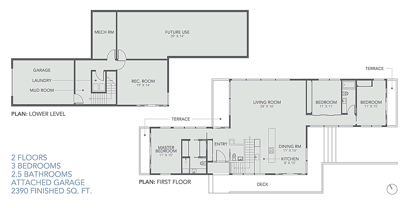 Ridgehouse Floorplans